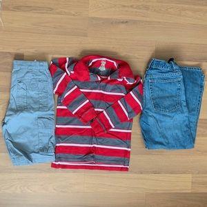 3 Piece Bundle of Boy's Size 12 Clothes